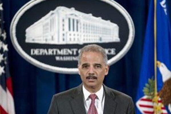Americký minister spravodlivosti Eric Holder.
