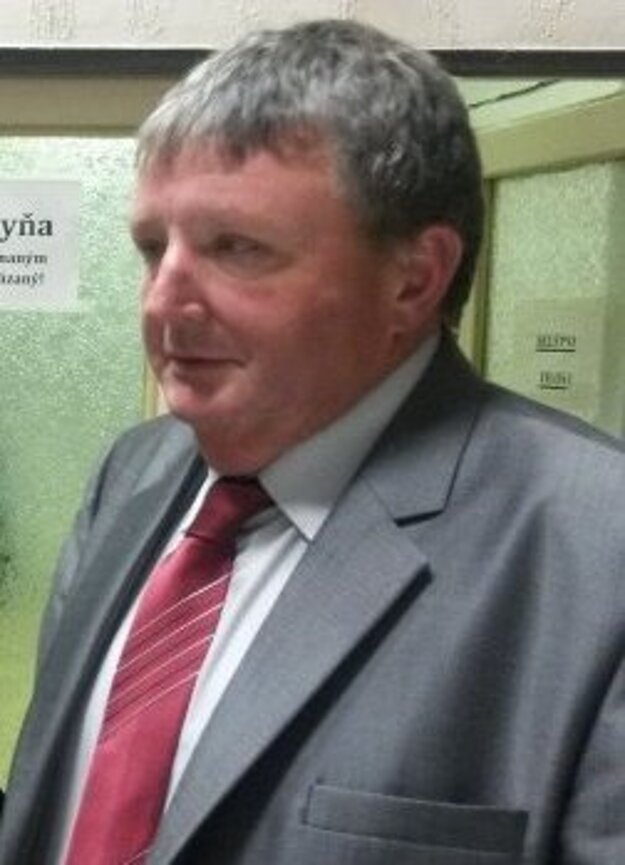 Predseda ObFZ Komárno František Nagy