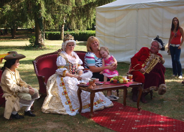 Počas minulých ročníkov ste s Máriou Teréziou mohli popíjať čaj.