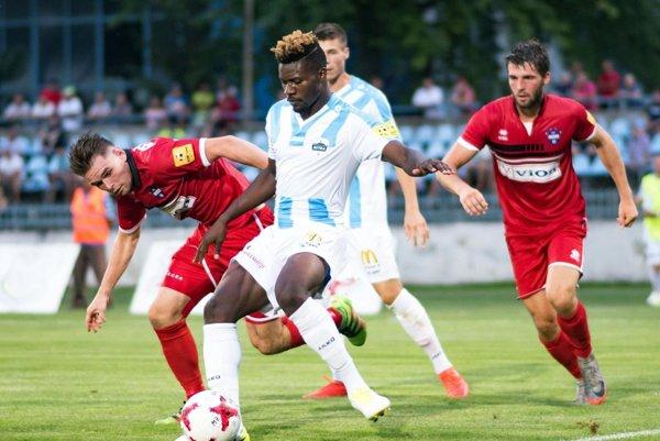 Kanaďan s kamerunským pasom si robí výborné meno v prvej slovenskej lige.
