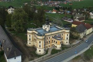 Kaštieľ v Markušovciach.