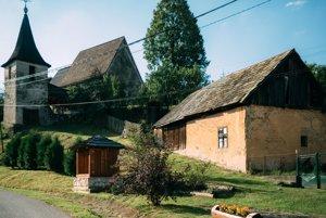 Kostolík v Henckovciach.