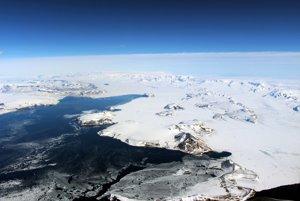 Najsevernejšia časť Antarktického polostrova.