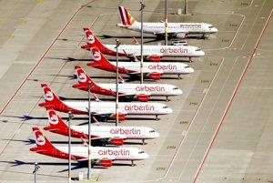 Air Berlin rokujú s tromi leteckými firmami o kúpe svojich aktív