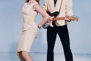 S herečkou Ann-Margret vo filme Viva Las Vegas.
