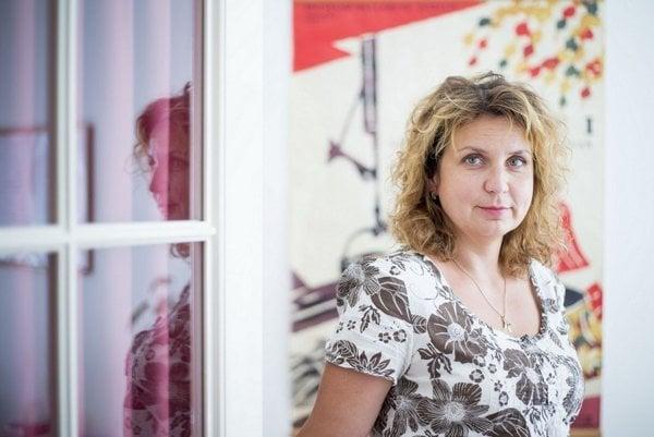 Psychologička Katarína Hatráková.