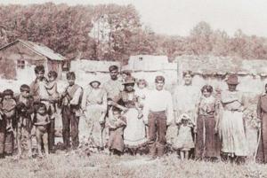 Najstaršia fotografia zHlbokého. Rok 1919. FOTO: (MJK)