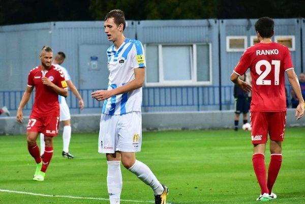 Filip Balaj strelil jediný gól zápasu Senice s Nitrou.