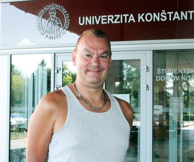 Teemu Sarna, nový tréner volejbalistiek Volley Project UKF Nitra.