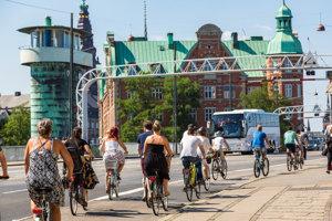 Po vzore európskych metropol. Dánska Kodaň je príkladom toho, ako možno z cyklodopravy vyťažiť maximum.