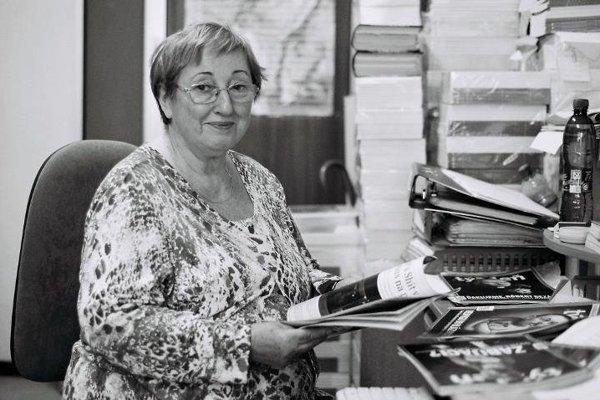 Jarmila Samcová (15. september 1939 - 20. august 2017)