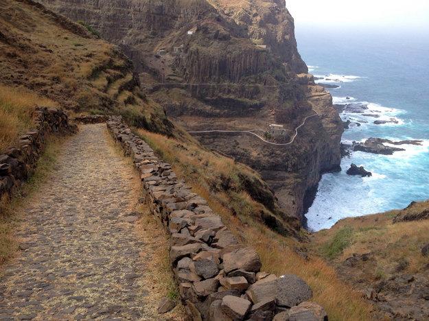 Niektoré ostrovy Kapverd sú značne hornaté.