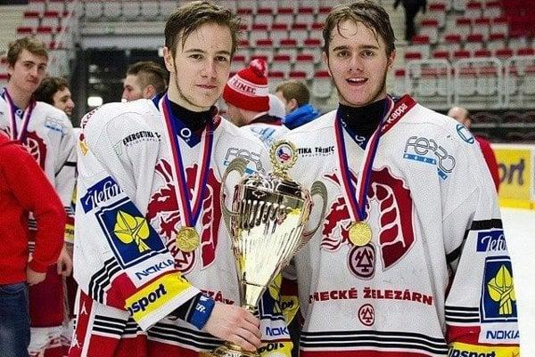 Michal (vľavo) a Miloš Romanovci.