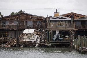 Harvey je v oblasti najničivejším hurikánom za posledných dvanásť rokov.