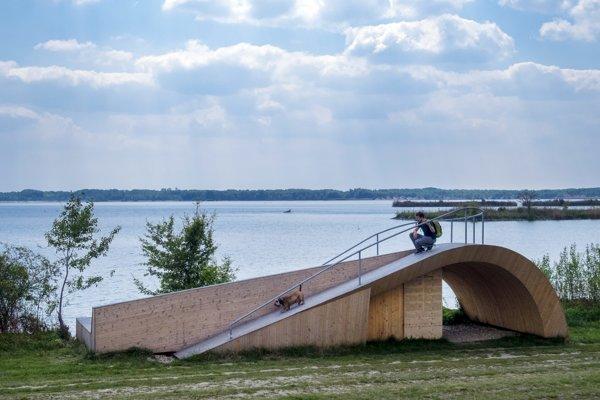 Pozorovateľňa vtáctva Duna.