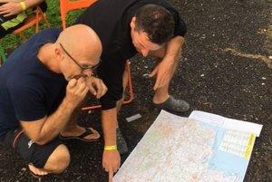 Plánovanie trasy.