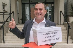 Marián Murín, starosta obce Mútne a kandidát na župana v Žilinskom samosprávnom kraji.