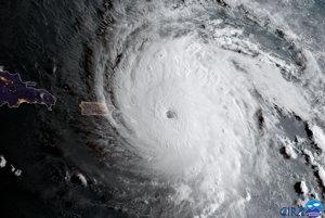 Hurikán Irma.