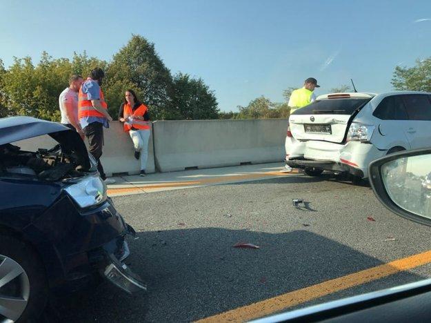 Nehoda na D1.