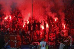 Fanúšikovia Spartaku Moskva sa opäť predviedli.