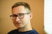 Poľský sociológ a kritik Slawomir Sierakowski.