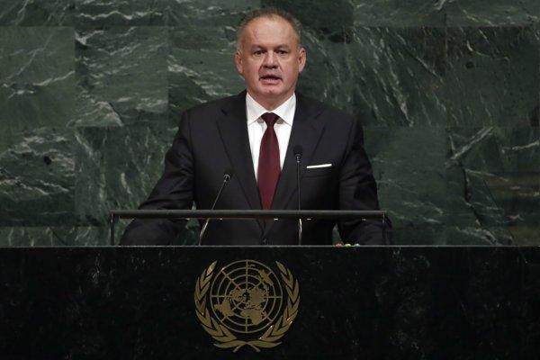 Andrej Kiska hovoril o klimatických zmenách, agresívnom Rusku aj chudobe a chorobách.