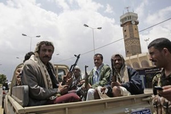 Jemenskí policajti.