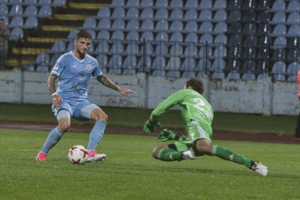 Slovan túto sezónu ešte vo Fortuna lige neprehral.