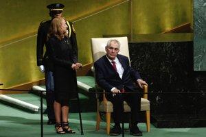 Český prezident Zeman v utorok vystúpil v OSN.