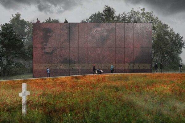 Návrh Monumentu spojí funkciu pietneho miesta a vyhliadkovej veže.