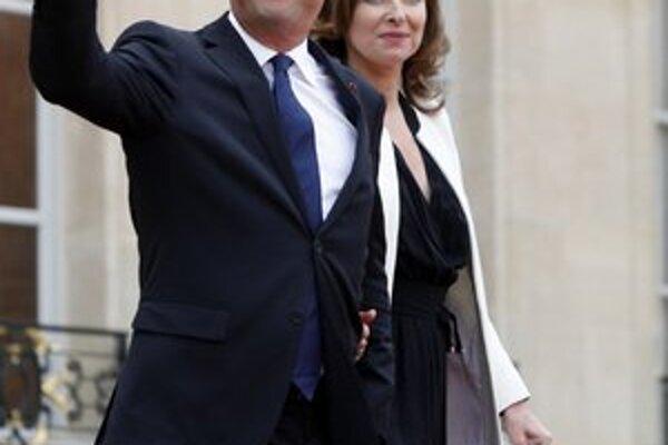 Nový francúzsky prezidentský pár.