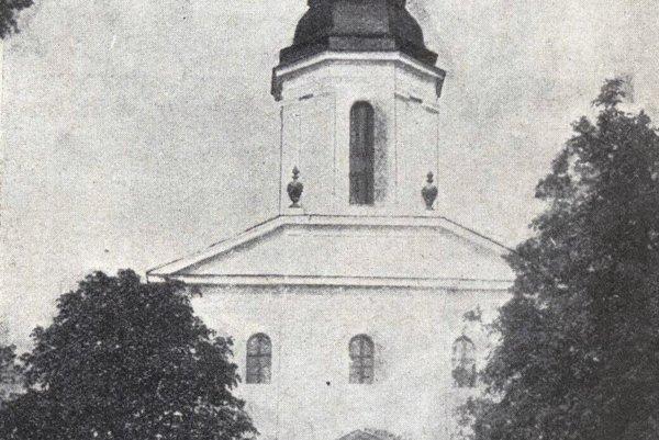 Kostol na košickej Kalvárii.