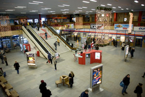 Autobusová stanica na Mlynských nivách