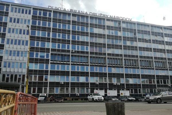 Budova okresného a mestského úradu, polície aj okresného súdu vo Svidníku.