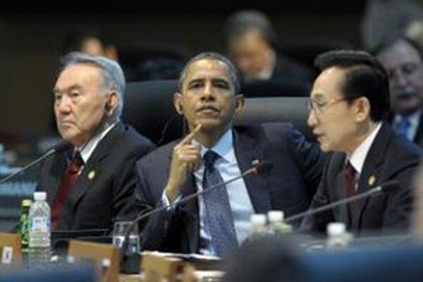 Obama na summite v Južnej Kórei.