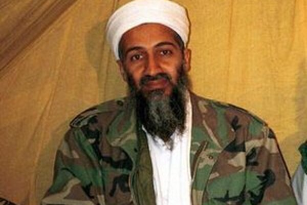 Archívna snímka Bin Ládina v Afganistane.