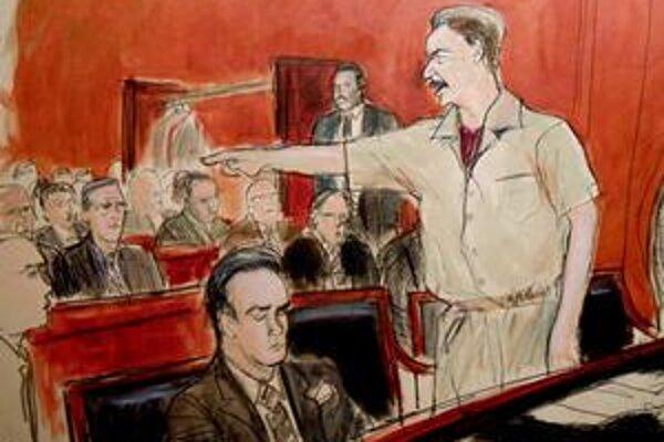 Viktor But sa bráni na súde.