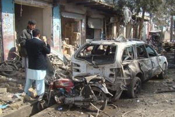 Najviac Afgancov zabíjajú bomby pri cestách.