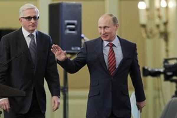 Ruský premiér Vladimír Putin.