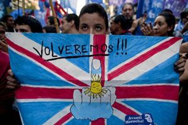 Situácia medzi Argentínou a Britániou je opäť napätá.
