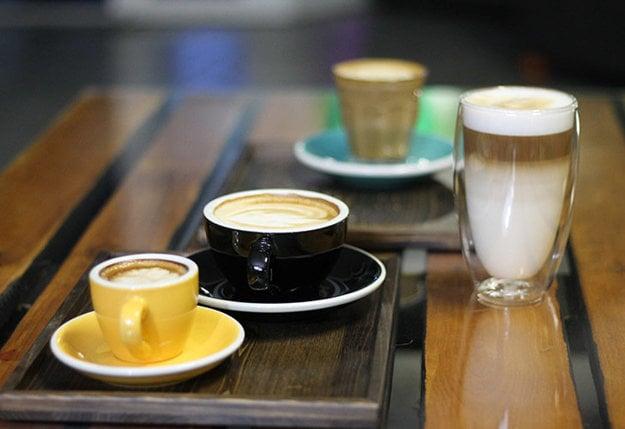 Milovníci kávy si tiež prídu na svoje
