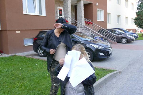Obvinené ženy z Maďarska.