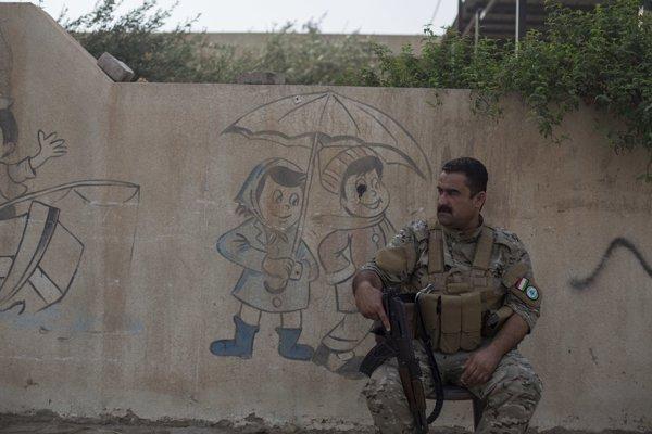 Kurdský vojak.