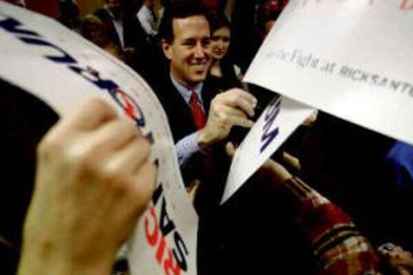 Rick Santorum by mohol vyhrať južanské Tennessee či Oklahomu.