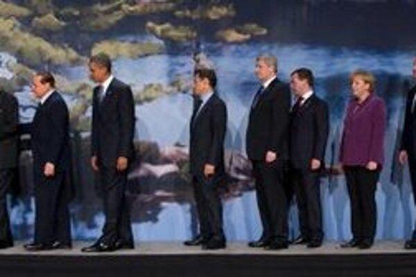 Lídri skupiny G8.