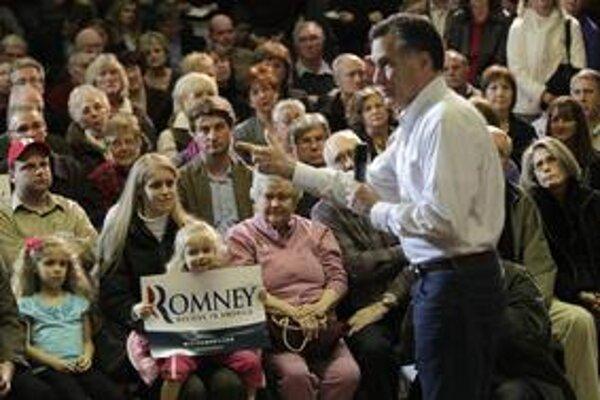 Favoritom republikánskych primáriek je Mitt Romney.