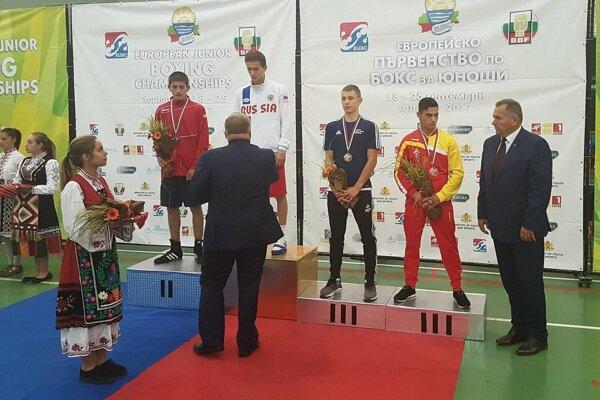 Alex Triebeľ získal v Bulharsku bronzovú medailu.