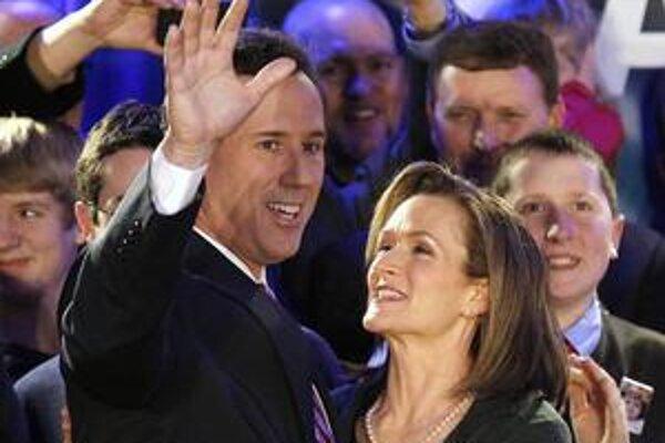 Možnosti Ricka Santoruma otestuje Južná Karolína.