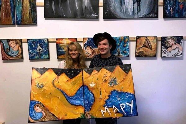 Martin Harich a Abbie Puskailer