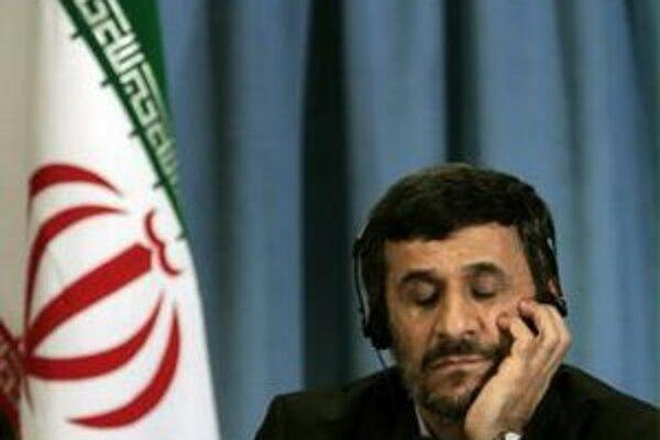 Iránsky prezident Mahmúd Ahmadínežád.